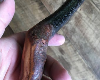 Blackthorn Walking Stick - 36 1/4 inch - Handmade in Ireland by me