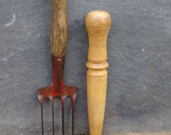 Old gardening etsy for Allotment tools for sale