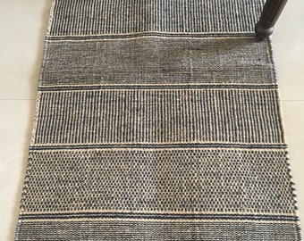 Natural Jute Rug/ Mat - Jute Dhurrie - Jute Area Rug - Eco-friendly Mat - Available for Wholesale