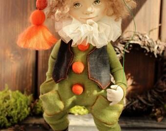 Handmade doll. Gnome  Wirdis