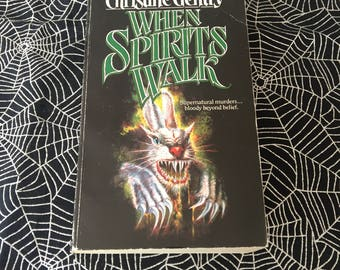 WHEN SPIRITS WALKS (Rare Paperback Novel by Christine Gentry)