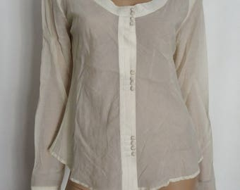 Blouse woman ARMANI Jeans size 42 / uk 14 / us 10