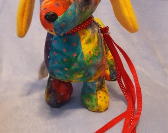 Dashing Dachshund stuffed dog/puppy/ softie/ plushie