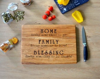 In Law Wedding Gift Wooden Cutting Board Custom Engraved Home Gift for Parents of Bride Groom Meaningful Gift for In Laws Newlyweds