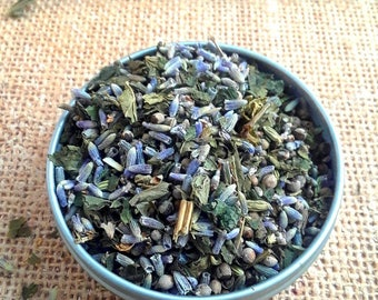Lavender, Vitex Berry, Nettle and Fennel Herbal Tea - Women's Tea - Menopause Tea - Loose Leaf Tea - 6 tea bags