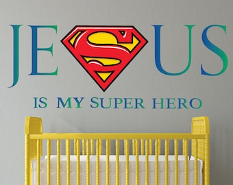 Inspirational Wall Stickers By GoGoDragonBusiness On Etsy - Superhero wall decals application