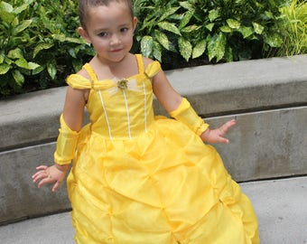 Princess belle dress, Beauty and the beast, princess Belle,