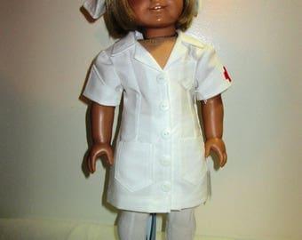 Nurse Uniform for 18 inch dolls