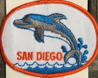San Diego Vintage Souvenir Travel Patch