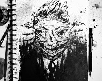 Joker Ink Illustration