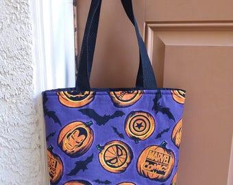 Halloween Trick-or-Treat Bag - Superheroes