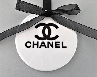 Chanel Ornament, Coco Chanel Ornament, Chanel Gift, Valentines Day Gift, Gift for Her, Chanel Lover, Ornaments, Chanel, Wife Gift