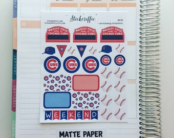 S410  Chicago Cubs Stickers