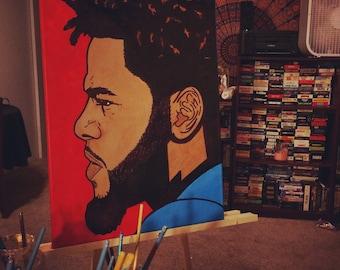J.Cole Portrait