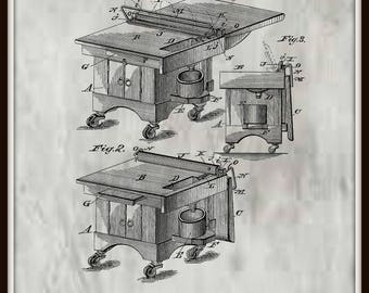 Kitchen Cabinet Patent #317766 dated May 12, 1885.