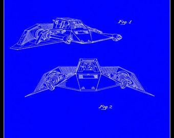 Snow Speeder Patent# 267025 dated November 23, 1982.
