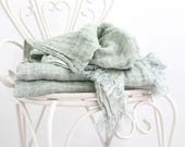 Linen blanket - Beach blanket - Picnic blanket - Minimalist Throws