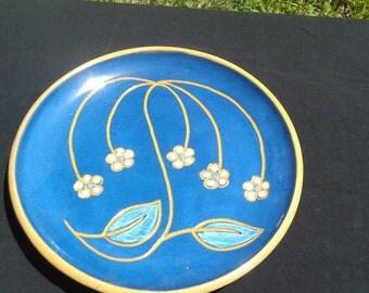 Vintage Ceramic Decorative Plate