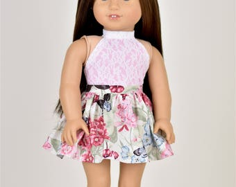 Halter Combo 18 inch doll clothes