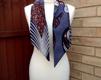 African print head wrap,African print scarf, wax print accessories