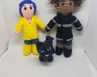 Amigurumi Wybie Doll : Coraline Etsy