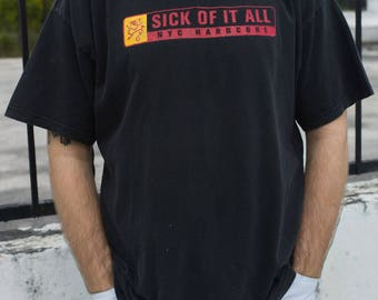 Vintage Sick of it All T-Shirt
