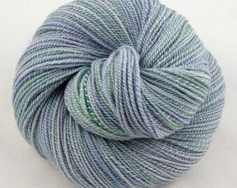 Lavender Fields - DK weight hand spun yarn - 100% Merino