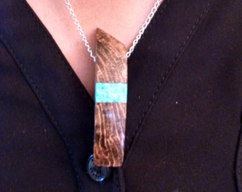 Custom Reclaimed Wood Necklaces