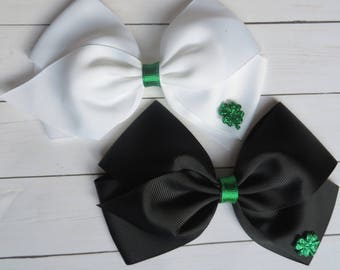 St. Patrick's Day Hair Bows | St Patrick's Day Headbands | St. Patrick's Day | St. Patty's Day Hair Bows | St. Pat's Day Hair Bows | St Pats