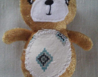 Blue Diamond Teddy Bear