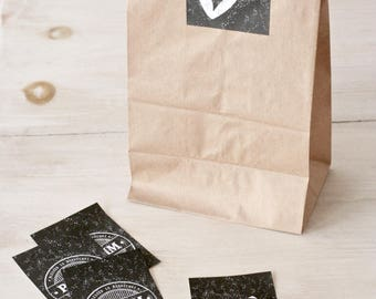 Mishloach Manot Kit, Bags + Stickers