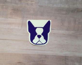 Boston Terrier Decal, Boston Terriers, Boston Terrier Decals, Laptop Decals, Dog Decal, Laptop Stickers, Car Decal, Car Decals, Yeti Decal