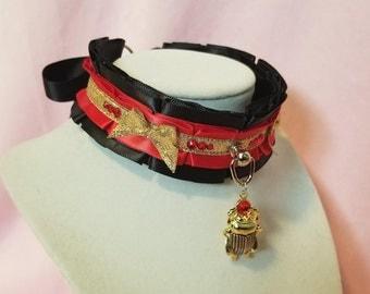 The Egyptian Scarab Collar
