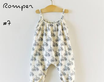 Digital Sewing Pattern: Baby/Toddler Boho Romper