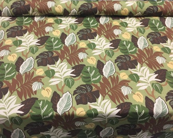 Bryant Everglades Basil Green  Floral fabric Indoor Outdoor Fabric by the yard Multipurpose