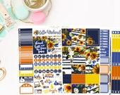Sunflower Mini Kit, planner stickers