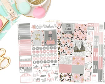 Relax Deluxe Kit, planner stickers
