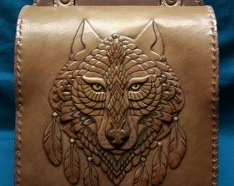 "Bag ""Spirit Of The Wolf"""