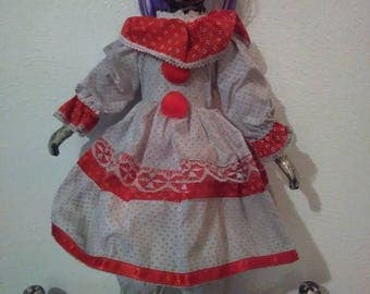Haunted Clown Girl Doll !
