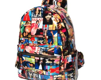 Colorful First Lady Obama Michelle Luxe Backpack