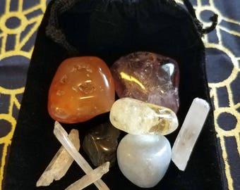 Archangel Zadkiel Crystal Power Pack