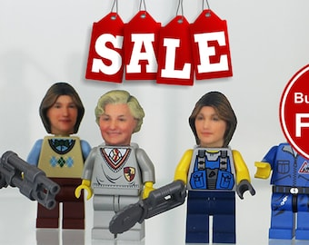 Become your own LEGO minifigure - Buy 2 Get 1 FREE