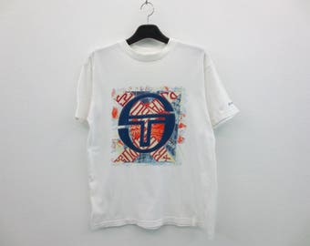 Sergio Tacchini Shirt Vintage Sergio Tacchini T 90s Sergio Tacchini Vintage Relaxed T Mens Size M