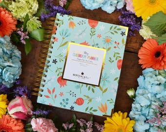 My Classroom Planner - Floral Cover