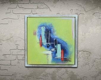 Framed painting, Modern Art, Painting, Abstract art, Canvas Art, Original Art, Fine Art, wall art, Acrylic painting, acrylic art