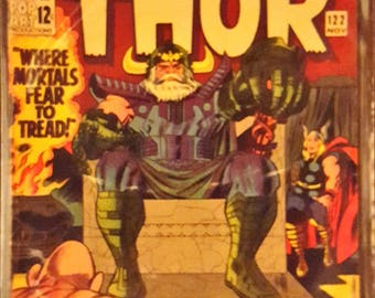 1965 Marvel Comic Book - Silver Age - Journey Into Mystery with The Mighty THOR