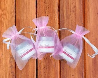 Baby Girl Favors - Pink Shower Favors - Body Butter Shower Favors - Whipped Cherry Almond Body Butter - Baby Shower Favors Girl