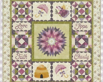 SALE! BOM - Garden Thyme - Full Pattern - by Shabby Fabrics