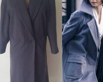 Dress like Tina Scamander(née Goldstein): Vintage Jones New York Women's Wool Coat