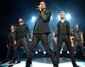 New Kids On The Block Total Package Tour